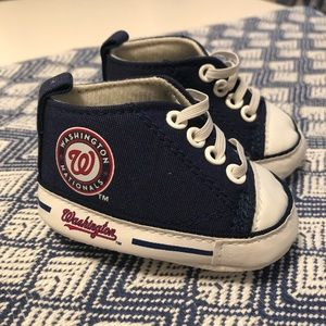 Washington Nationals baby shoes 0-6 months